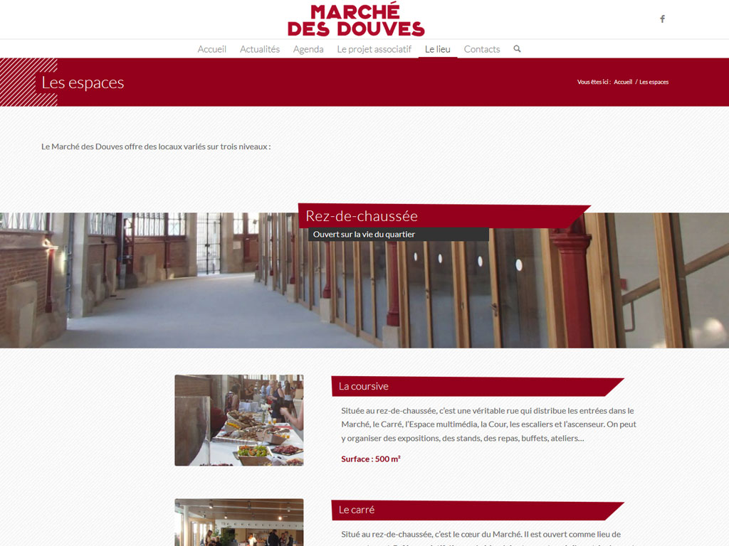 Site web Douves